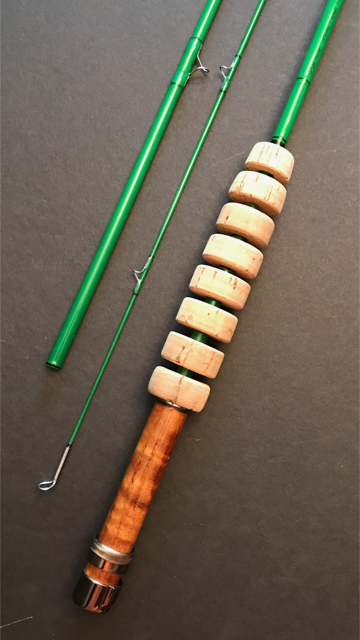 Custom Bittersweet Fly Rod