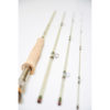 Smoke White Glass Fly Rod