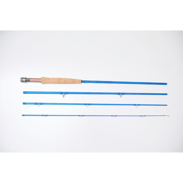 Superior Blue Glass Fly Rod